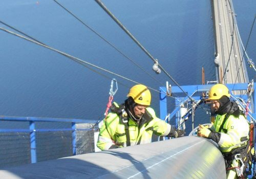 Spencer Group completes world's largest bridge cables anti-corrosion project cover image