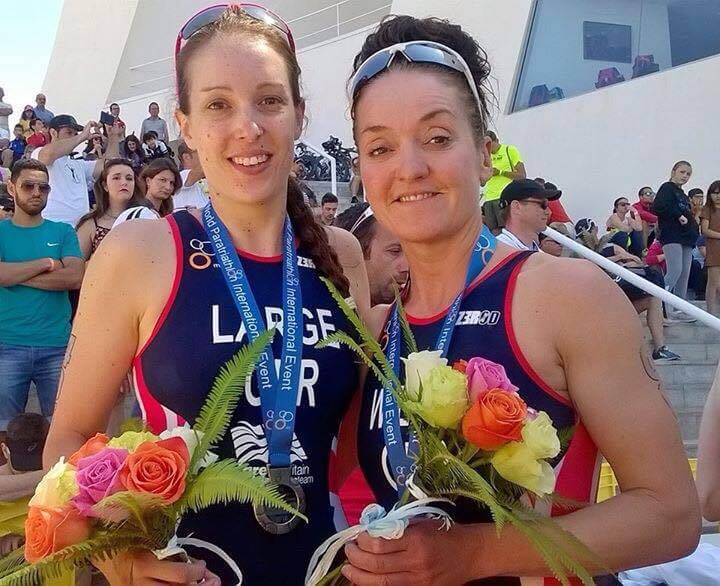 Ruth Wilson Takes Bronze in her first ITU