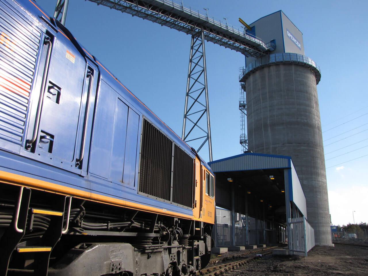 Port of Tyne Rail Loading of Biomass