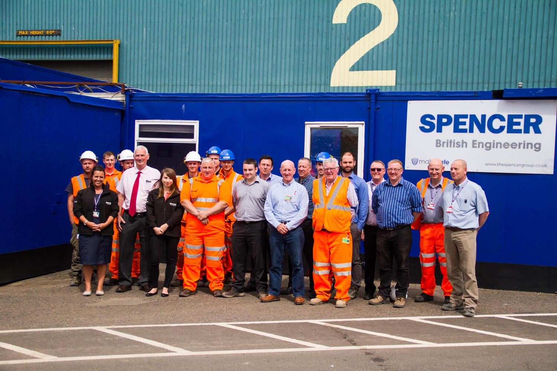 Spencer Group's Port of Tyne Team