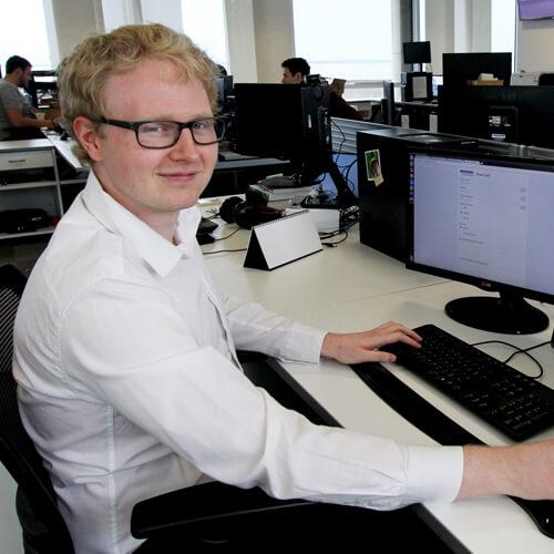 Spencer Group apprentices Lee Westoby