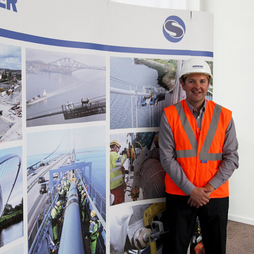 Spencer Group apprentices Phil Kirkwood