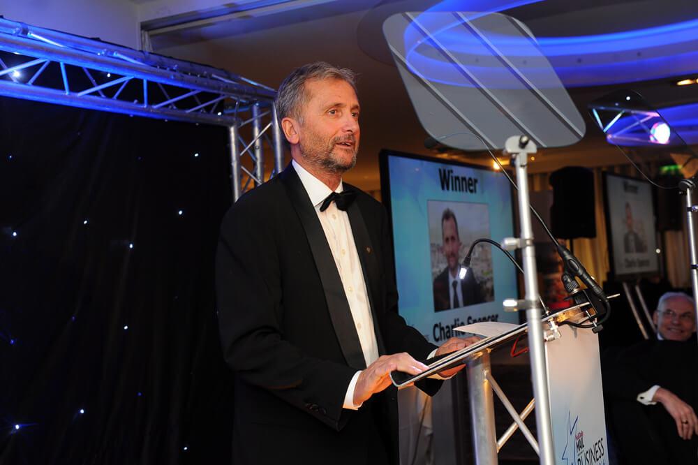 Charlie Spencer Lifetime Contribution Award Speech