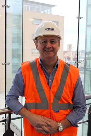 Spencer Group Managing Director Gary Thornton
