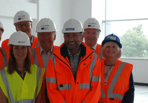 Spencer Group hosts VIP visits to Ron Dearing UTC and Energy Works cover image