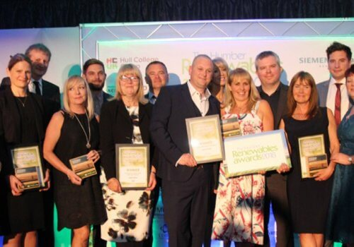 Spencer Group hailed as Humber green energy champion cover image